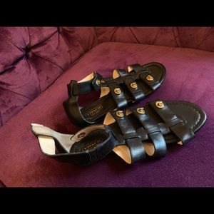 COACH ankle snap Oleta sandals 61/2
